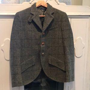 Ralph Lauren blue label wool equestrian jacket